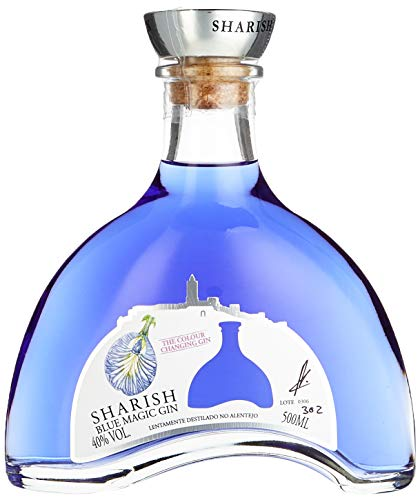 Sharish Blue Magic Gin (1 x 0,5 Liter) (Blue Magic)