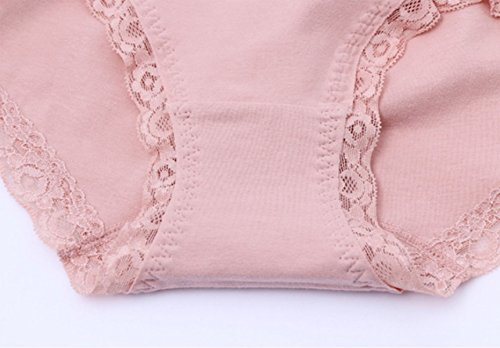 Frauen-reizvolle Spitze-Bikinihöschen 6-Pack A1