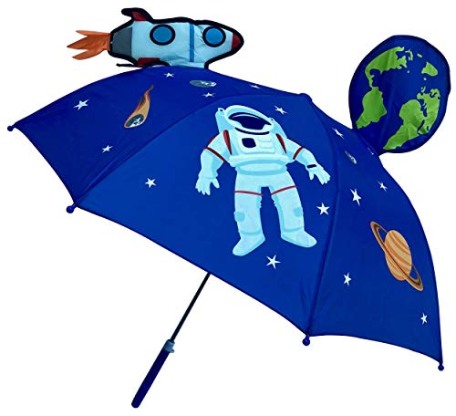 Paraguas 3D HECKBO® niños astronauta espacial |