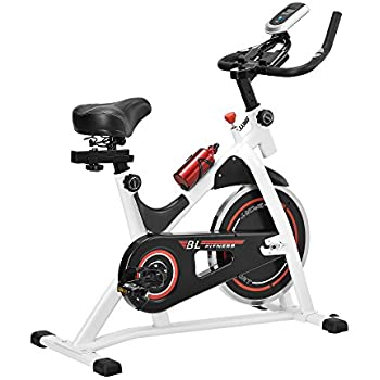 in.Tec] Bicicleta estática/Indoor Cycling - Blanca - Ejercicio en ...