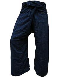 Panasiam® Fishermannhose: Lin in dunkelblau, XL