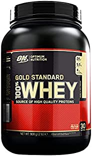 Optimum Nutrition Gold Standard Whey Ice Cream Vanilla Flavor Powder, 2 Lbs
