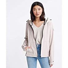 Superdry Women's Ls Essentials Summer Trekker Jacket, Grey (Silver Cloud Ijg), M (Size:12)