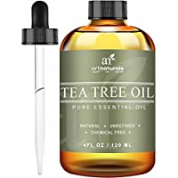 Art Naturals Pure & Natural Tea Tree Essential oil-4 oz-premium Melaleuca grade-multi-functional