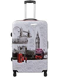 Neceser rígido de viaje, funda de policarbonato ABS, equipaje de mano, tamaño XL L M S