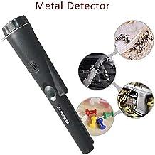 Yeying123 Portátil de Mano GP-Puntero Puntero sonda Detector de Metales con la Cubierta de