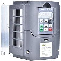 Wandisy Variador de frecuencia - Bomba de Agua Solar Inversor VFD Convertidor de frecuencia de generador fotovoltaico de CC a CA(2.2KW)