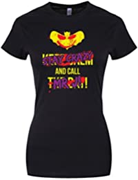 Grindstore Women's Stay Crazy & Call Mr J T-Shirt Black