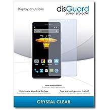 """2 x disGuard® Protector de pantalla Elephone M1 Protectores de pantalla de película """"CrystalClear"""" invisible"""