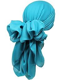 Bamboo Damen quadratisch Schal Halstücher Kopftuch (1m x1m)