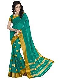 Venisa Women's 100% Mercerised Cotton Saree