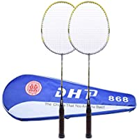 Easy-Room Premium Badminton Racket Set, 2 Racquets and Protective bag, Perfect for Beginner