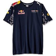 Puma - Camiseta para hombre del equipo RBR, hombre, T-shirt RBR Team Tee, Multi-Coloured - total eclipse, medium