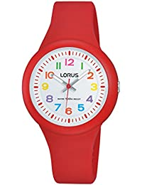 Lorus Watches Unisex - Armbanduhr Kids Analog Quarz Kautschuk RRX53EX9