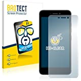 2x BROTECT Protector Pantalla Archos 50f Neon Película Protectora – Transparente, Anti-Huellas