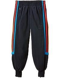 adidas YB S CHAL PT CH - Pantalón de entrenamiento para niños, color negro/azul/rojo, talla 164