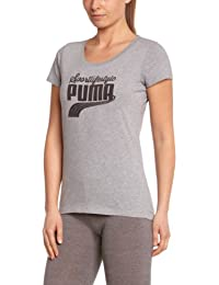 Puma T-Shirt Femme Athletic Gray