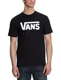 Vans - M VANS CLASSIC WHITE/BLACK - T-shirt - Homme