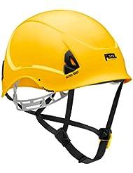 Petzl Helme Alveo Best - Casco de escalada, color amarillo, talla 53-63