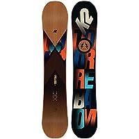 K2 Herren Freeride Snowboard Turbo Dream 157W 2018 Snowboard