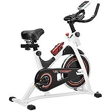 Tec] Bicicleta estática/Indoor Cycling - Blanca - Ejercicio en casa