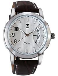 DVINE White Dial Men's Watch ED3001 WT01