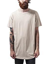 Urban Classics Shaped Long Tee, T-Shirt Homme, Weiß, XX-Large