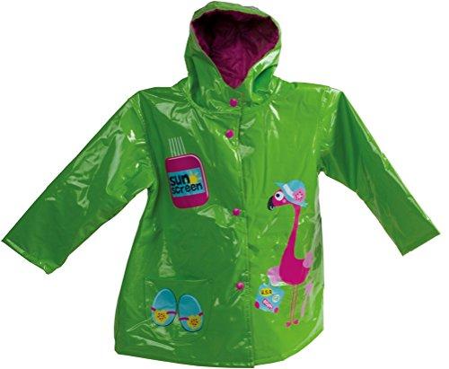 Preisvergleich Produktbild Bieco 04-009022 - Regenjacke für Kinder,  grün,  3 - 4 Jahre,  Regenmantel