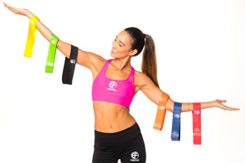 EXTREME-FITNESS-Mini-Exercise-Resistance-Loop-Bands-Set-Of-6-Bands-With-Drawstring-Carrying-Case--Exercise-Bands-For-Physical-Therapy-Mobility-Rehabilitation-Pilates-Yoga-Strength-Training