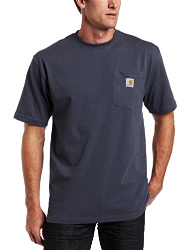 Carhartt Men's Workwear Pocket T-Shirt, Bluestone, Medium Reg -