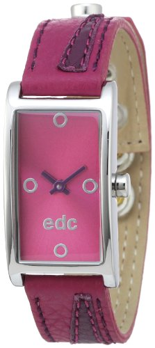 edc by Esprit EE100462009 - Reloj analógico de mujer de cuarzo con correa de piel multicolor