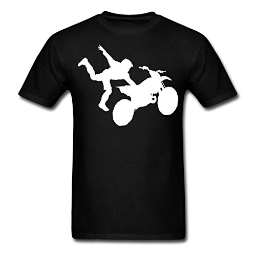 High Quality Motocross Dirt Bike Jump Stunt schwarz boys T-shirt Medium