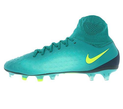 Nike 843812-375, Chaussures de Football Homme Bleu