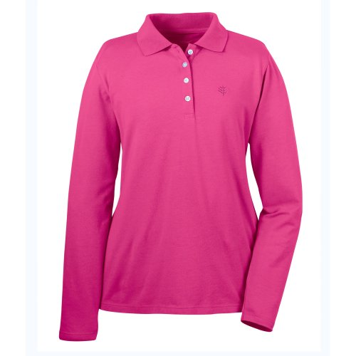 Coolibar - Polo - Femme Rose passion