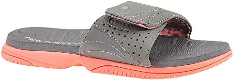 New Balance JoJo JoJo JoJo Slide Wouomo Sandal 8 B(M) US grigio-rosa   Prezzo giusto  863a3b