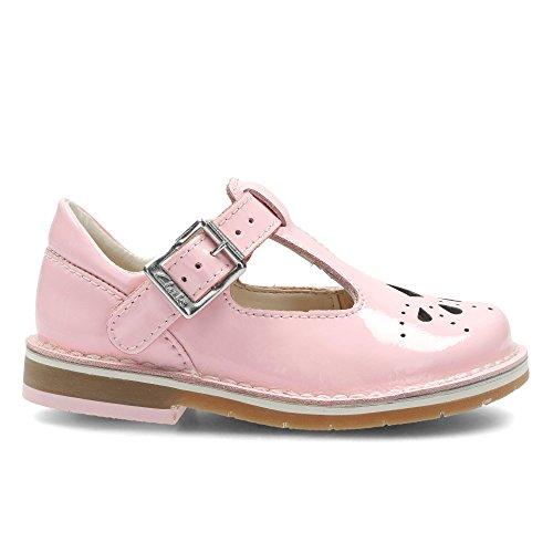 Clarks Yarn Weave Fst, Chaussures Marche Bébé Fille Rose