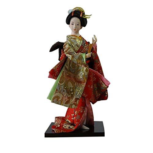 Japanische Puppen Geisha Mädchen Geiko Kimono Puppe Home Decoration Kunst Sammlung, # 03