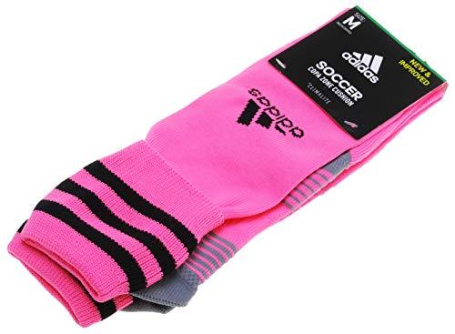 Adidas Copa Zone III Cushion Sock (Ultra Pop Pink) Medium -