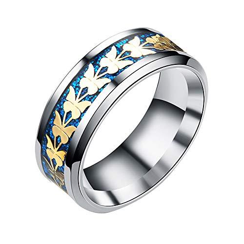 Loveso Modeschmuck Muster Ring Bijouterie - Schmuck zum kleinen Preis Schmuck Trachtenschmuck Zubehör