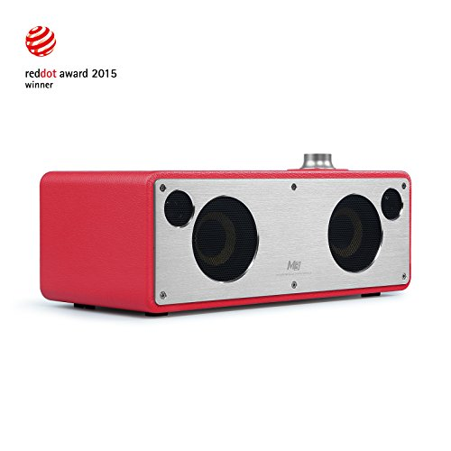 Altoparlante senza Fili,GGMM®M3 Retro Wi-Fi / Bluetooth Speaker Stereo con Uscita 40W ,Multi-Room Play, Airplay, DLNA, Pandora, Spotify, iHeart Radio | Streaming di Musica i Dispositivi Intelligenti(rosa)