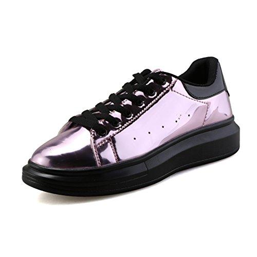 Estate scarpe tempo libero/Le scarpe con la suola spessa pizzo amanti Rosso