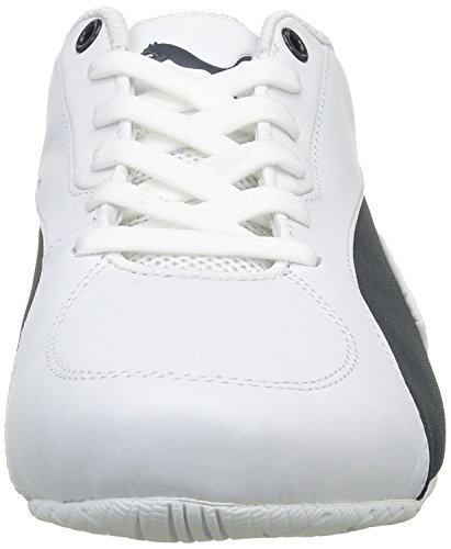 Puma Unisex-Erwachsene Bmw Ms Drift Cat 5 Low-Top Weiß (Puma White-Team Blue 01)