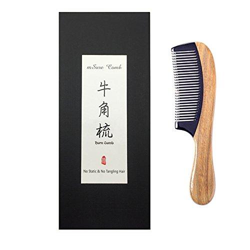msure-bois-de-santal-peigne-en-corne-anti-statique-cheveux-naturels-peigne-dmloir-faite-la-main-en-b