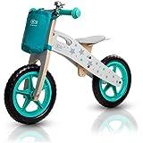 Draisienne Runner vélo en bois sans pédale écologique apprentissage
