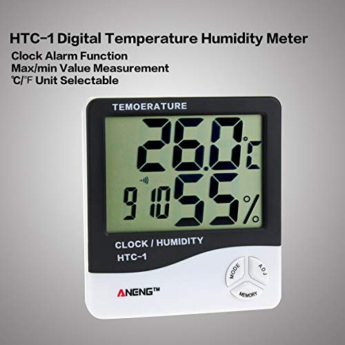 Heaviesk Temperature Humidity Meter HTC-1 LCD Interior
