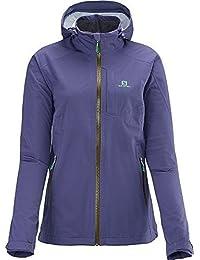 Salomon veyrier veste stretch pour femme violet/359274