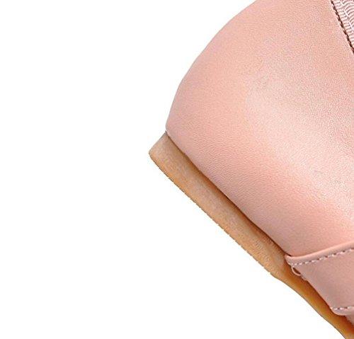 OL cravatte piatte del cavallo di ballo aerobico rotondo del piede rivestimento casuale rivestimento di pattini UE su misura 33-43 Black