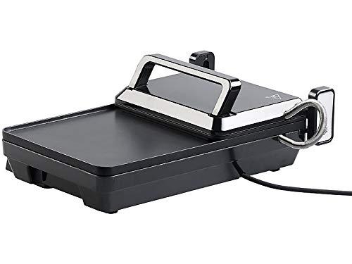 Grille-viande & plancha électrique de table 2 en...