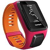 TomTom Runner 3 Cardio - Montre de Sport GPS - Bracelet Fin Fushia/Orange (ref 1RK0.001.02)