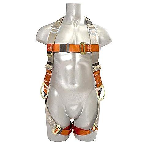 Madaco Dachbau Fallschutz Heavy Duty Full Body Industrial Safety Harness Größe M-XXL ANSI OSHA H-TB205B-RT
